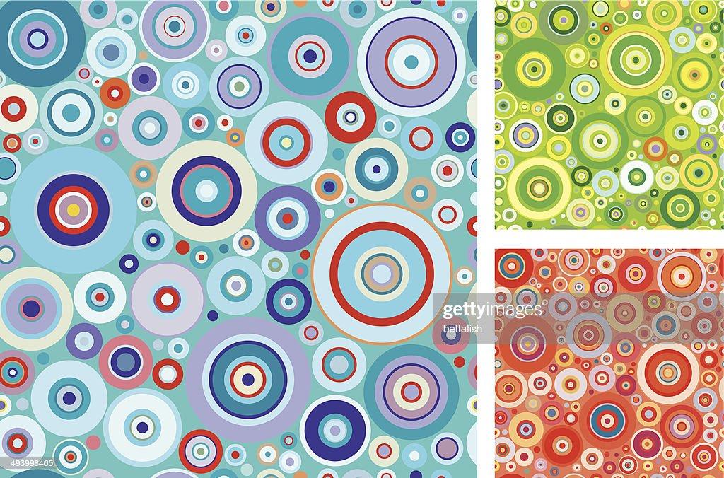 Circles pattern - seamless