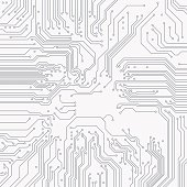 Circuit board background. Vector