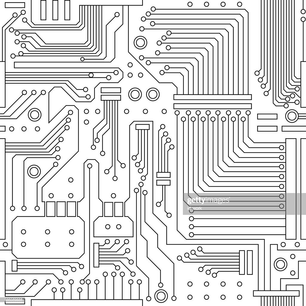 Exelent Circuit Board Pattern Vignette - Everything You Need to Know ...