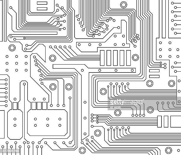 Circuit Board Vector Art And Graphics | Getty Images