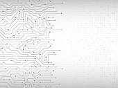 Circuit board vector illustration.