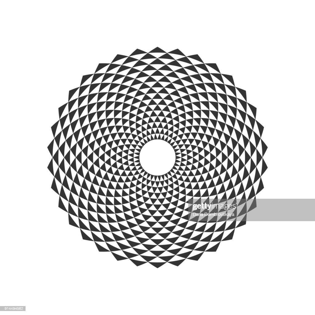 Circular Fractal Design