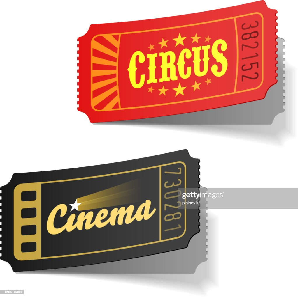 Circus and cinema tickets