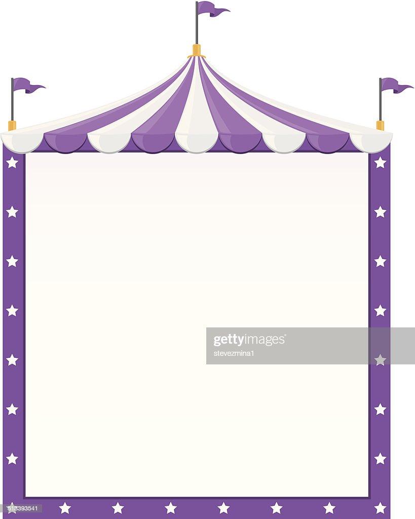 Circus Border : stock illustration