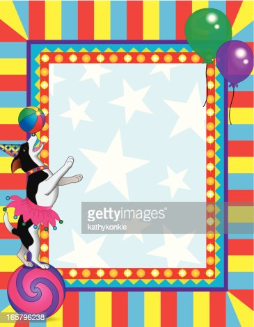Circus Frame Vector Art | Getty Images