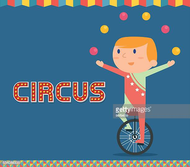 De cirque Jongler