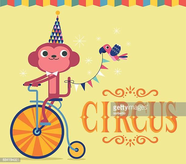 Circus monos mostraron