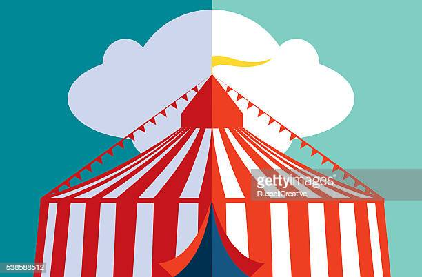 circus or festival - agricultural fair stock illustrations, clip art, cartoons, & icons