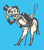 Circus Ringleader Bowing