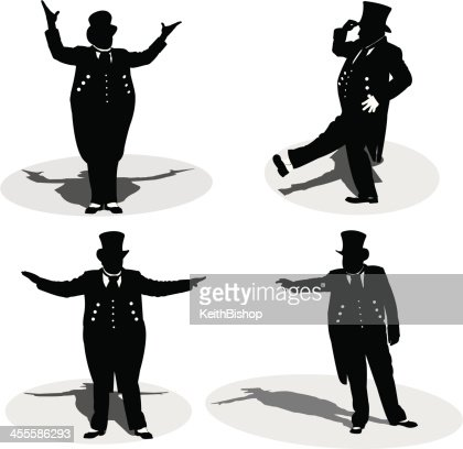 Circus Ringleader Or Master Of Ceremony Vector Art Getty