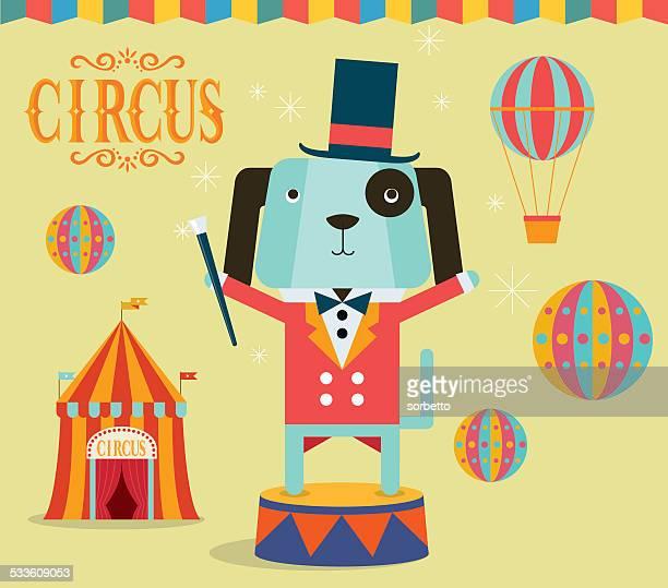 circus ringmaster - school carnival stock illustrations, clip art, cartoons, & icons