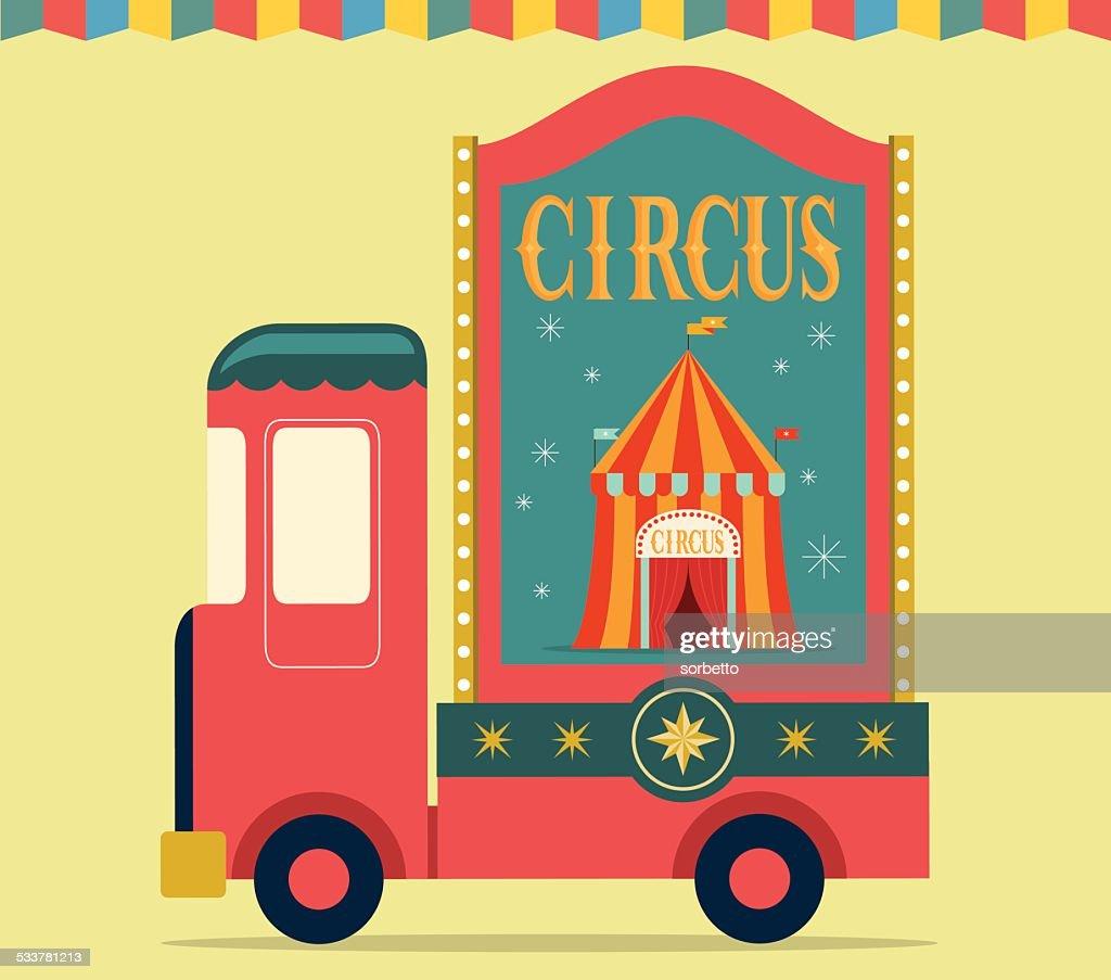 Circo Show : Illustrazione stock
