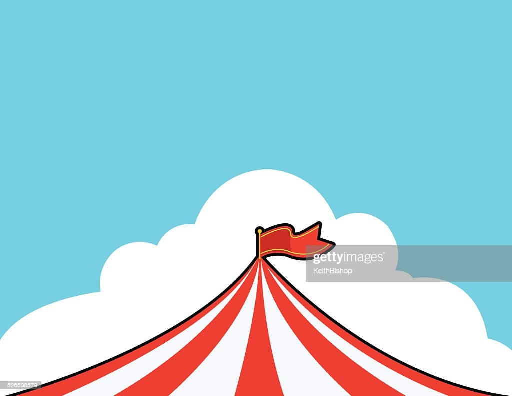 sc 1 st  Getty Images & Circus Tent Background Cartoon Vector Art | Getty Images