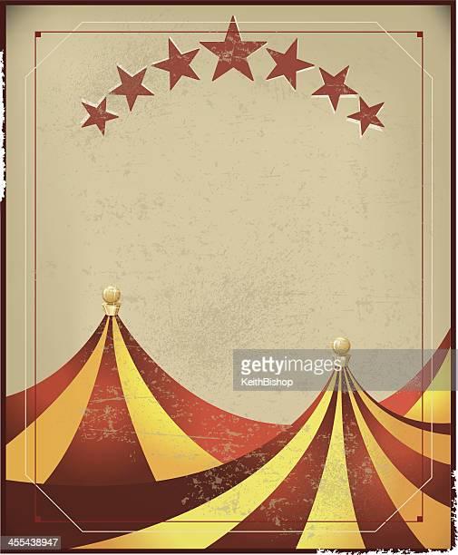 illustrations, cliparts, dessins animés et icônes de chapiteau de cirque fond rétro - chapiteau de cirque