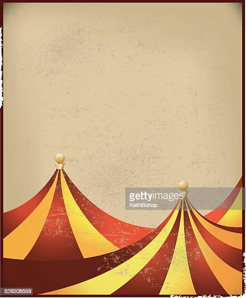 Circus Tent Background - Retro