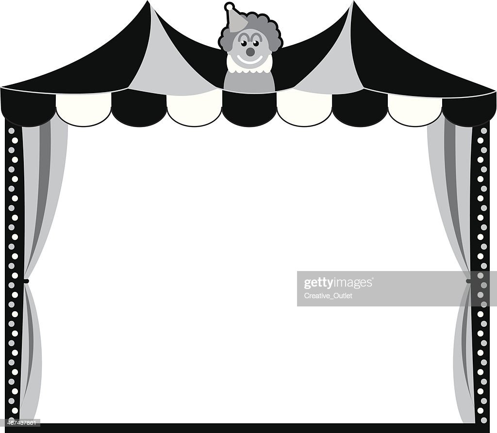 Circus Tent Frame Vector Art | Getty Images