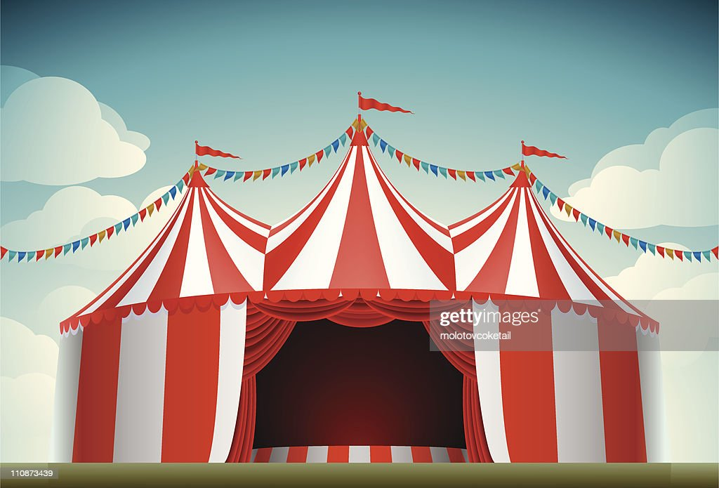 circus tent & Circus Tent Vector Art | Getty Images