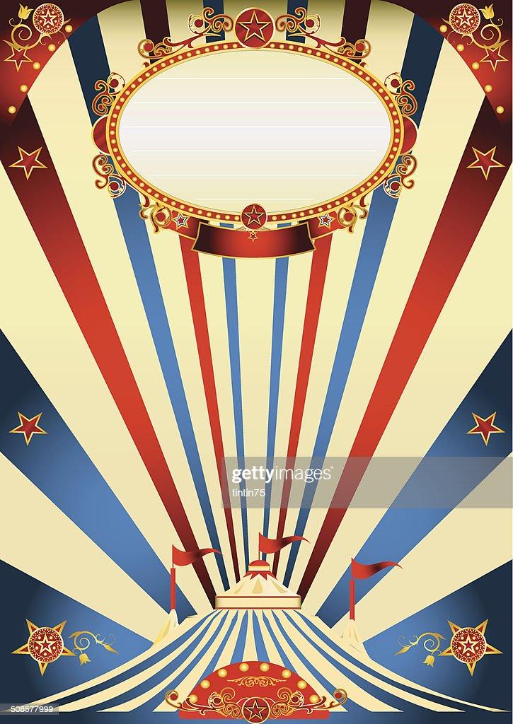 circus vintage : Vektorgrafik