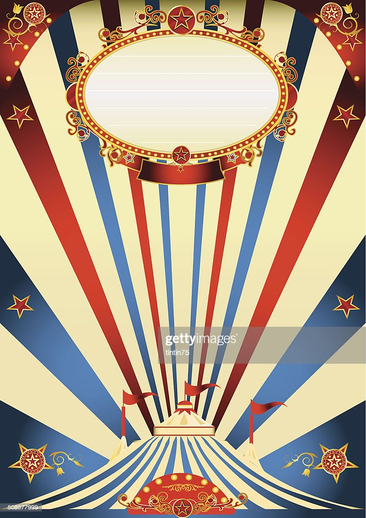 circus vintage : Vector Art
