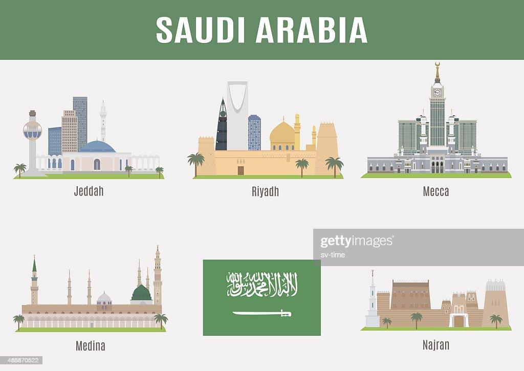 Cities in Saudi Arabia