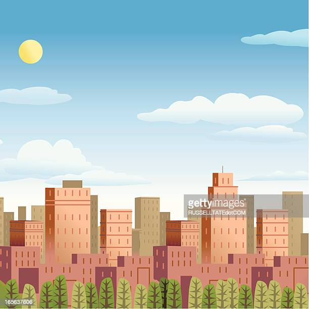city and country - surrounding stock illustrations, clip art, cartoons, & icons