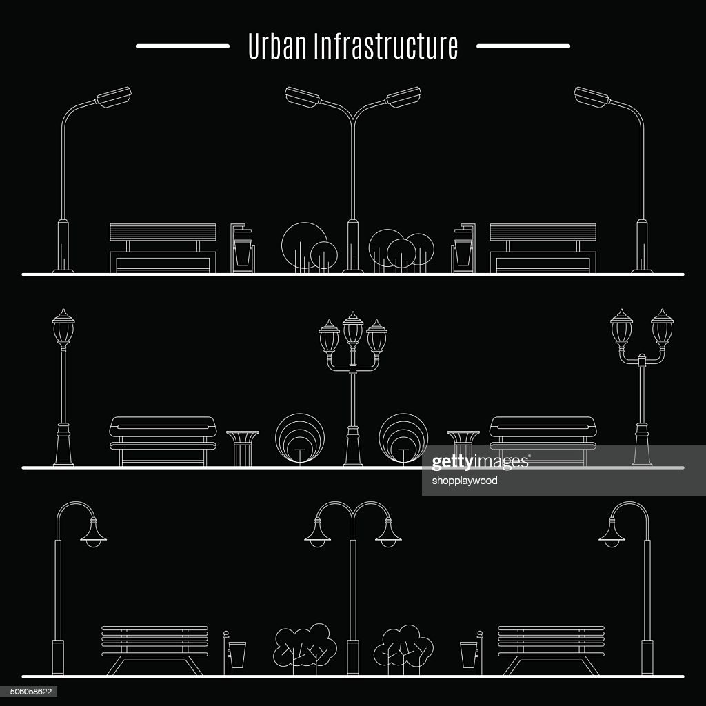 City and outdoor element