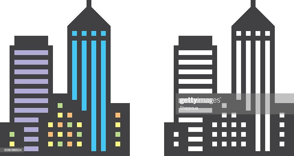 City Buildings : stock illustration