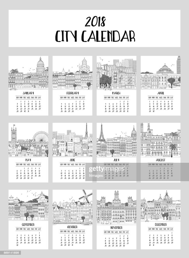 2018 City Calendar