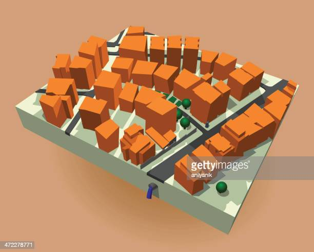 city cutaway