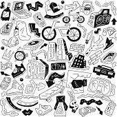 city - doodles