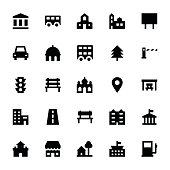 City Elements Vector Icons 3