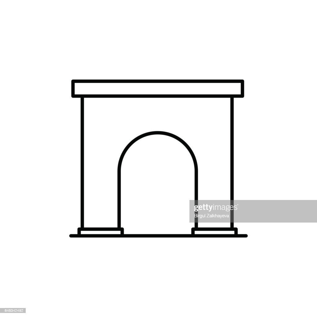 city gate icon
