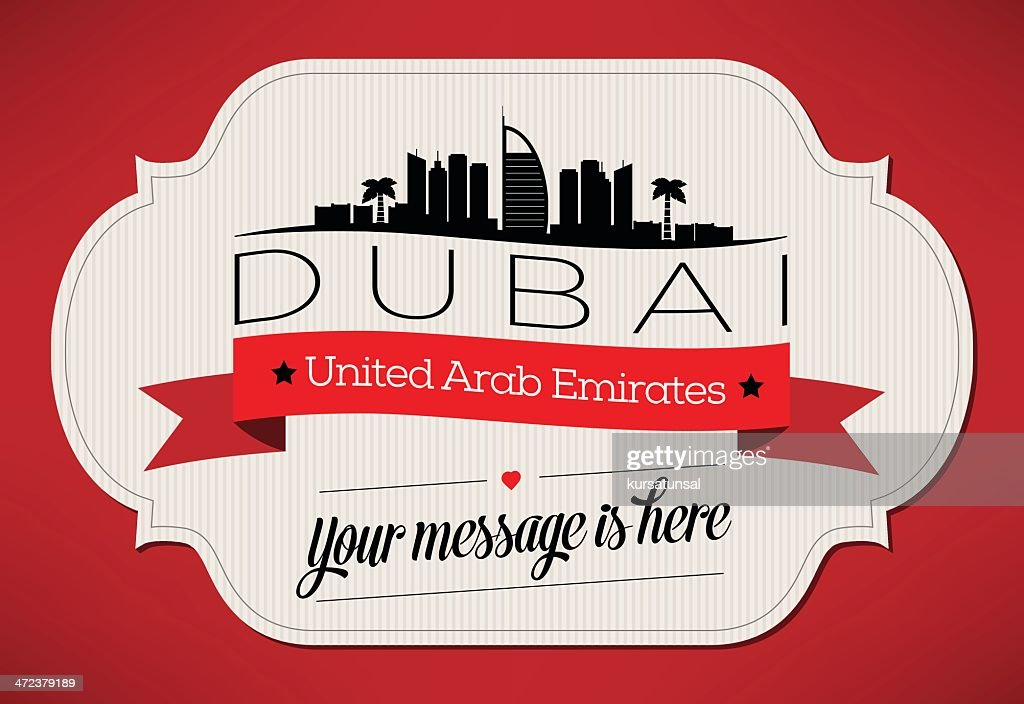 City Greeting Card Design Template