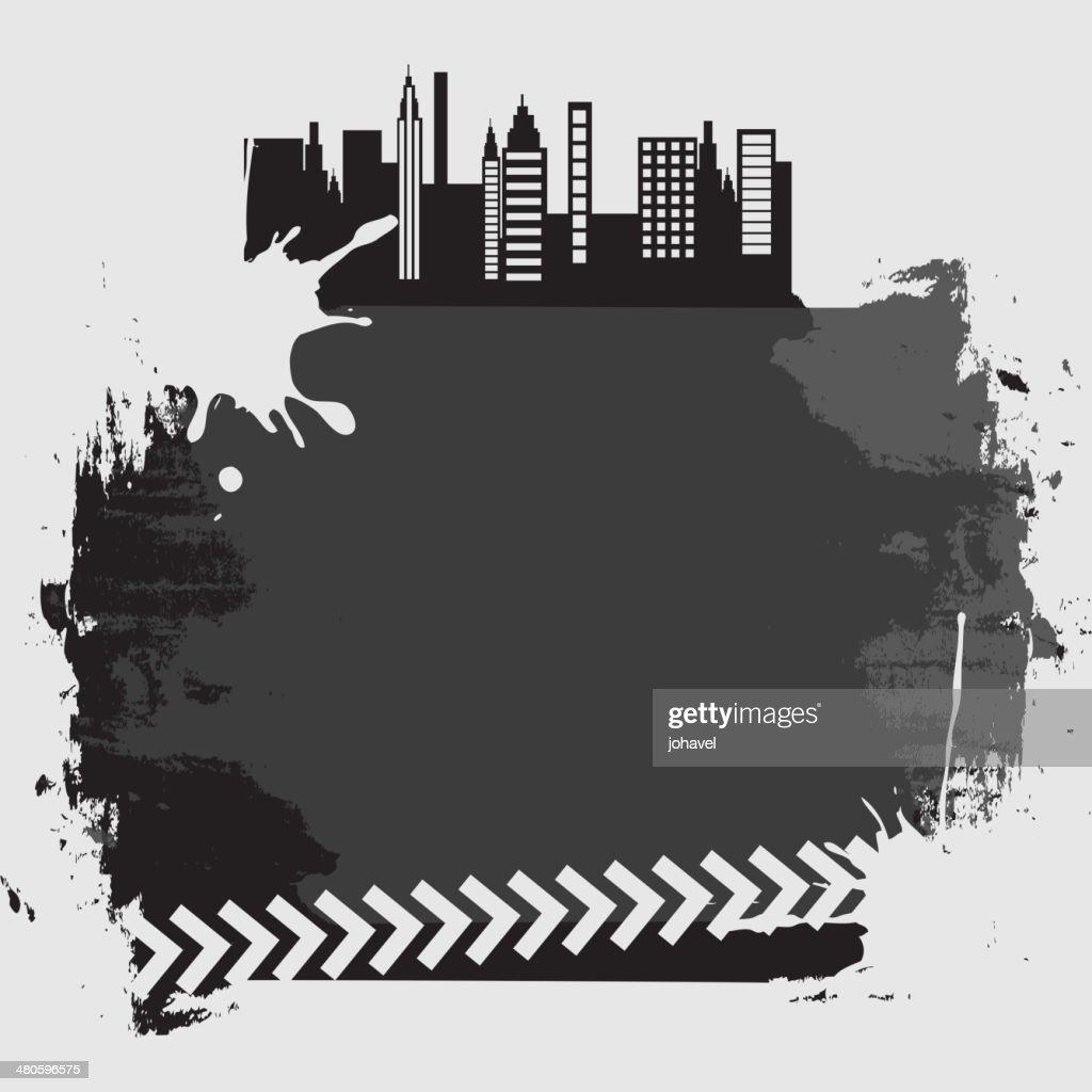 city label : Vector Art
