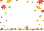 City landscape   Autumn