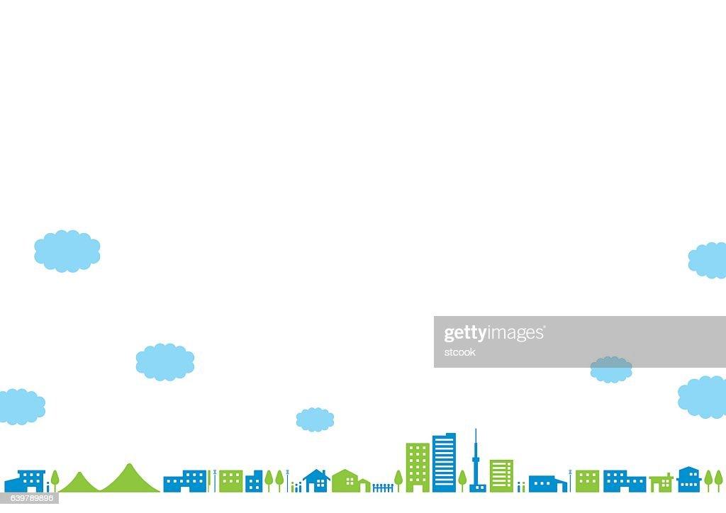 City landscape   Noon