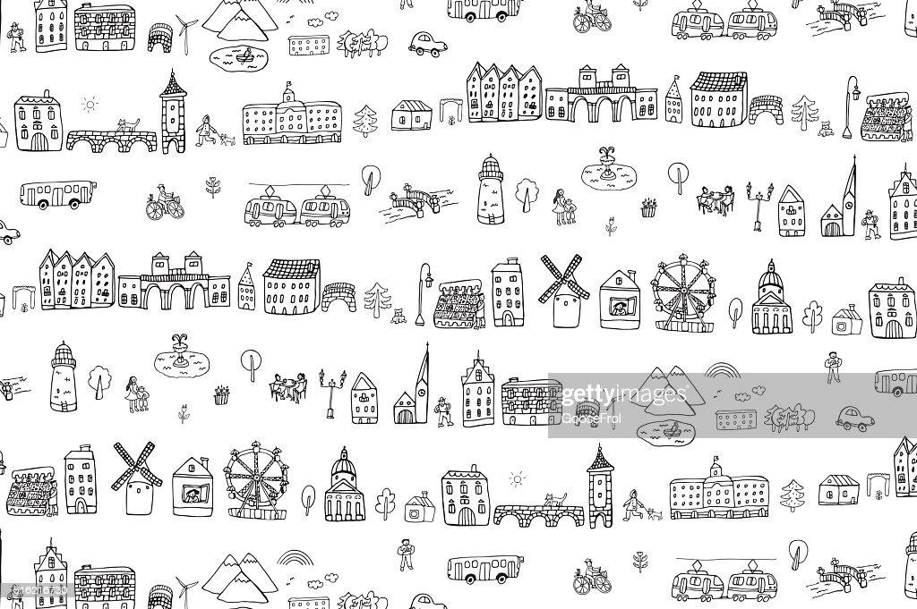 City life pattern