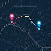 city map navigation