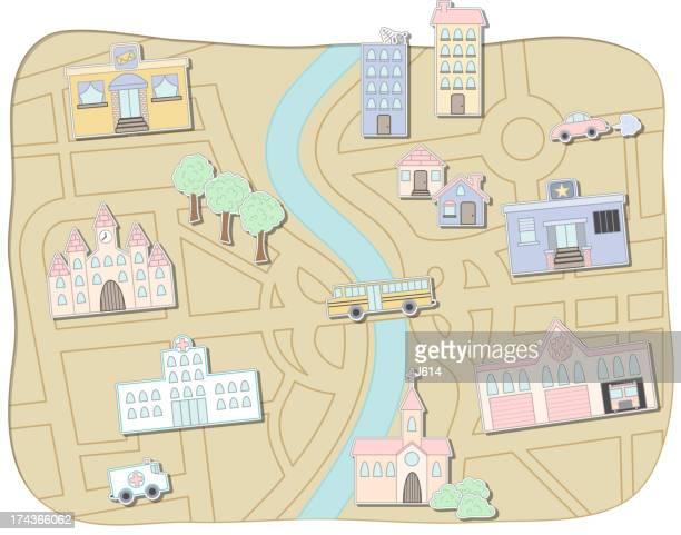 City Stadtplan