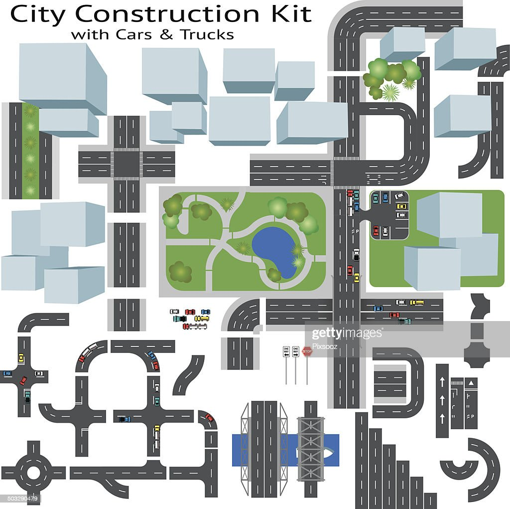 City Road Maker Construction Kit