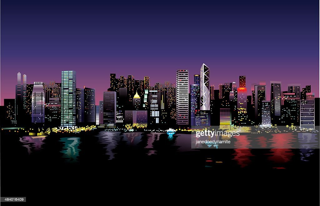 Vector illustration: City life