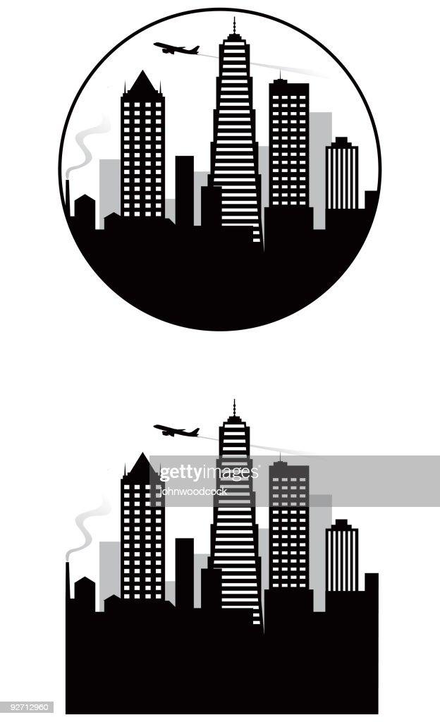 City skyline : stock illustration