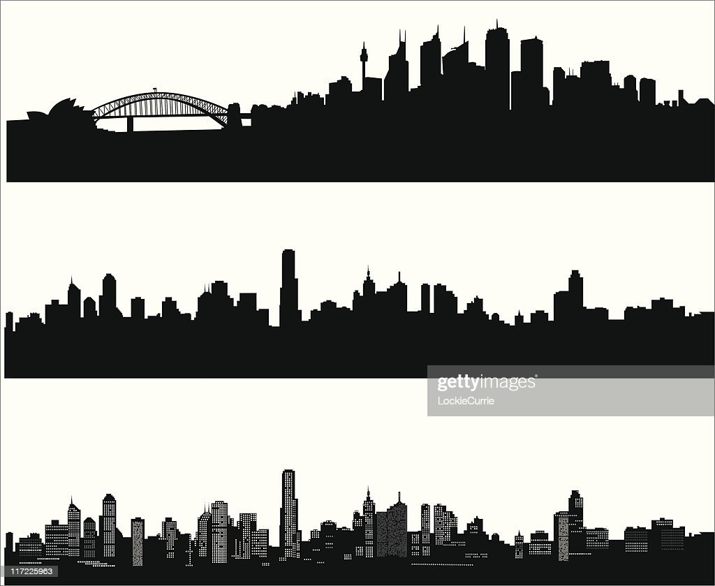 City skylines : Stock Illustration