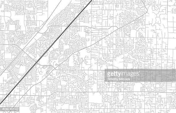 city street karte - stadtplan stock-grafiken, -clipart, -cartoons und -symbole