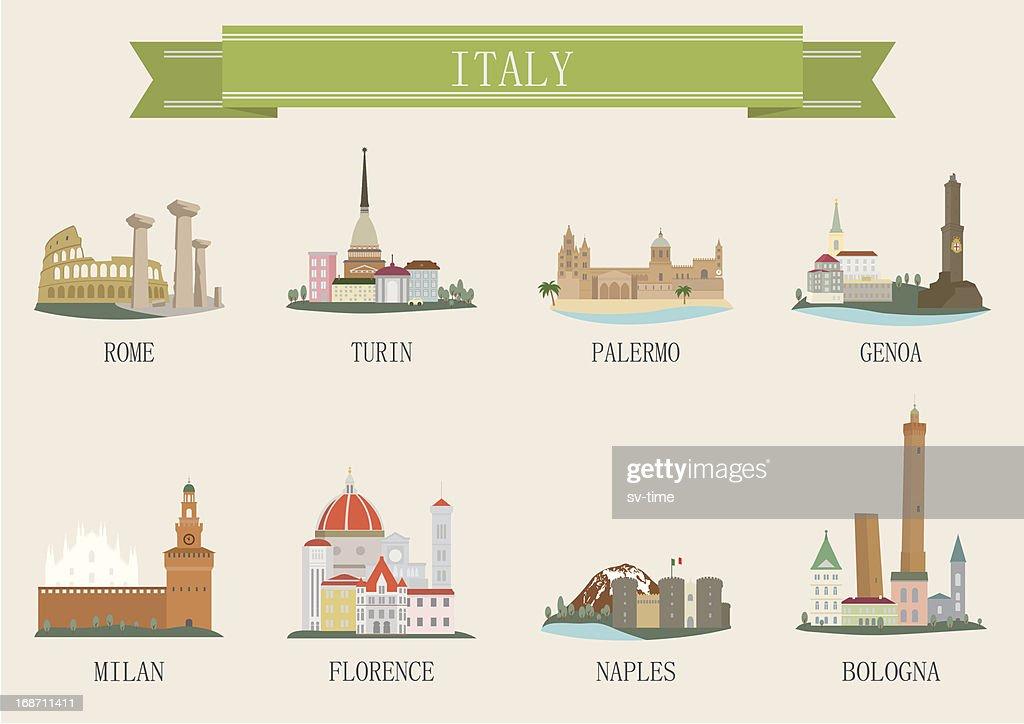 City symbol. Italy