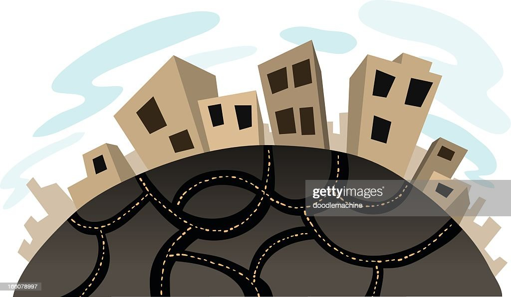 City World : stock illustration