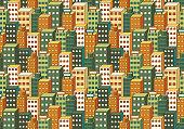 Cityscape Colour Background