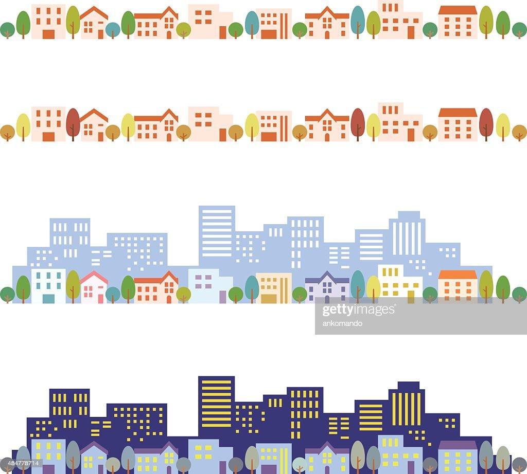 Cityscape illustrations