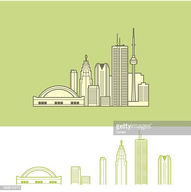 Stadtansicht von Toronto, Kanada