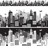 Cityscape siluette